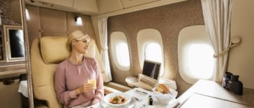 Emirates Airlines; introducing First Class Suite on Vienna route
