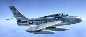 Republic F-84 Thunderjet: USAF's turbojet fighter-bomber